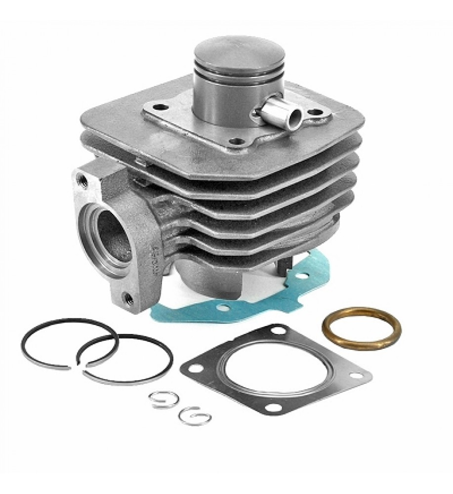 CYLINDER COMPL TO FIT PEUGEOT 50 LUDIX ONE / TREND / SNAKE / CLASSIC / VIVACITY 2T 2008> / KISBEE 2T