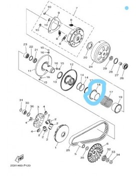SEAT SECONDARY SPRING