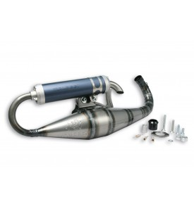 EXHAUST SYSTEM SCOOTER RACING MHR BIG BORE 2 Ø 50