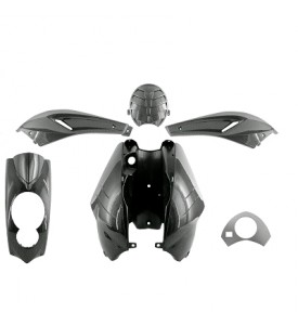 LUDIX KIT 5 PCS BODYWORK CARBON EFFECT