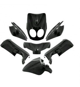OVETTO 2007 KIT 7 PCS BODYWORK BLACK METAL