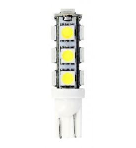 Sifam - Ampoules Wedge Base T10 - 13 LED - 12V 10W W2.1 x9.5D - SMD 5050 - Blister de 2 Ampoules