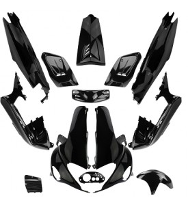 RUNNER GILERA KIT 13 BODYWORK PARTS TO FIT 1997-2004 50 / 125 / 150CC BLACK