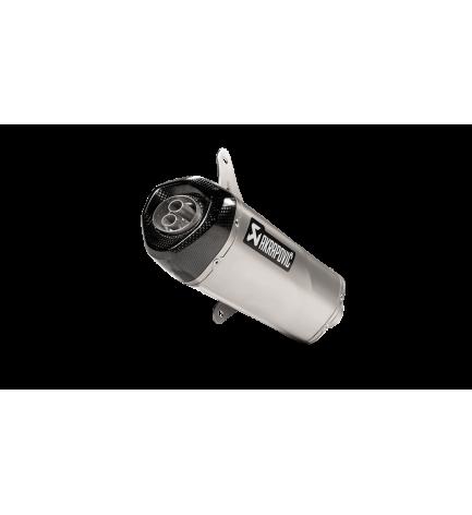 AKRAPOVIC SLIP ON LINE VESPA GTS 300 / SEI GIORNI / HPE 2020