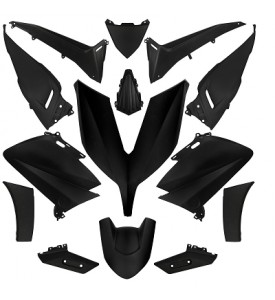 TMAX  YAMAHA 530 2015- 16 KIT 14 BODYWORK PARTS BLACK MAT